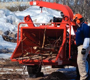 Kingston Brush Chipping Services